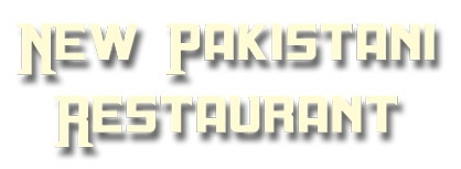 New Pakistani Restaurant